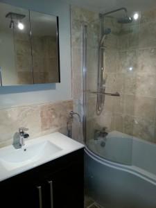 2013.02 - Otter Bathrooms - Feniton_Shower_Rain_Tiled_Wall_Sink_Cupboard