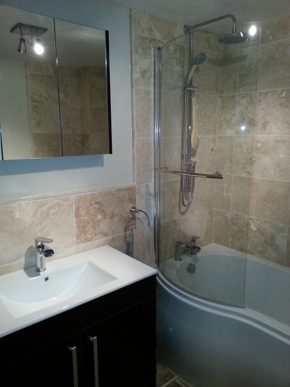 2013.02 - Otter Bathrooms - Feniton_Shower_Rain_Tiled_Wall_Sink_Cupboard